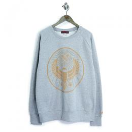 "357CLG Mosaic ""Meister"" Raglan Sweat (Light Heather)"