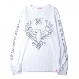 "357CLG ""WireFrame"" Long Sleeve T-Shirts (White)"