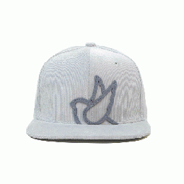 357CLG Big Silhouette P&G 3rd BB Cap : Light Gray